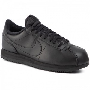 Nike Schuhe Cortez Basic Leather 819719 001 Black/Black/Anthracite