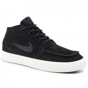 Black Friday 2020 - Nike Schuhe Zoom Janoski Mid Rm Crafted AQ7460 002 Black/Black/Pale Ivory