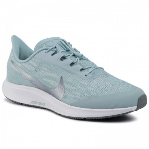 Black Friday 2020 - Nike Schuhe Air Zm Pegasus 36 Flyease Wd BV0615 300 Ocean Cube/Mtlc Cool Grey