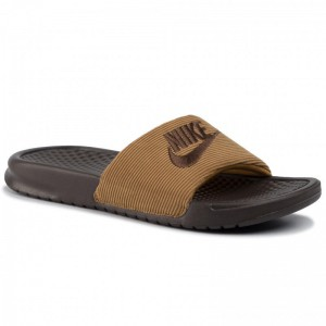 Nike Pantoletten Benassi Jdi Se Ltr CK0644 200 Baroque Brown/Baroque Brown