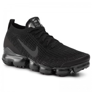 Black Friday 2020 - Nike Schuhe Air Vapormax Flyknit 3 AJ6900 004 Black/Anthracite/White