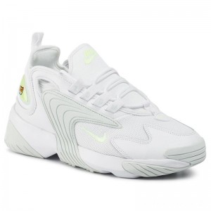 Black Friday 2020 - Nike Schuhe Zoom 2k A00354 104 White/Barely Volt/Ghost Aqua
