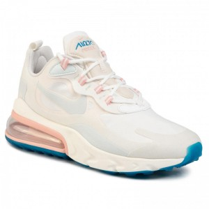 Black Friday 2020 - Nike Schuhe Air Max 270 React AO4971 100 Summit White/Ghost Aqua