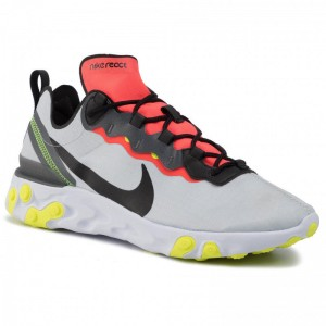 Black Friday 2020 - Nike Schuhe React Element 55 Se BV1507 003 Pure Platinum/Black/Dark Grey