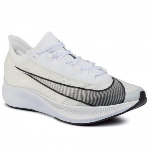 Nike Schuhe Zoom Fly 3 AT8240 100 White/Black/Metallic White