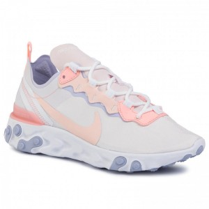 Nike Schuhe React Element 55 BQ2728 601 Pale Pink/Washed Coral