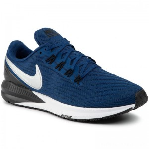Black Friday 2020 - Nike Schuhe Air Zoom Structure 22 AA1636 406 Coastal Blue/Chrome Black