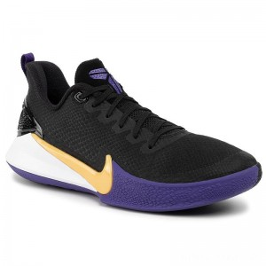 Black Friday 2020 - Nike Schuhe Mamba Focus AJ5899 005 Black/Amarillo/Field Purple