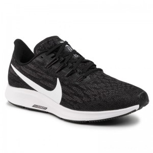 Black Friday 2020 - Nike Schuhe Air Zoom Pegesus 36 (4E) AQ2205 001 Black/White/Thunder Grey
