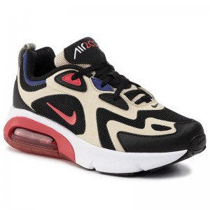 Nike Schuhe Air Max 200 (GS) AT5627 700 Team Gold/University Red/Black