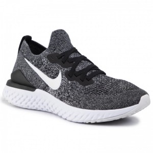 Black Friday 2020 - Nike Schuhe Epic React Flyknit 2 BQ8928 010 Black/White